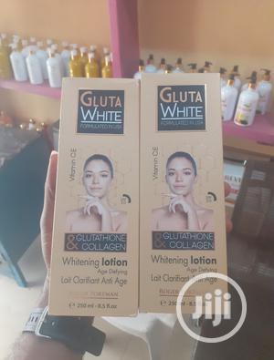 Gluta White Glutathione Collagen Whitening Lotion | Skin Care for sale in Lagos State, Amuwo-Odofin