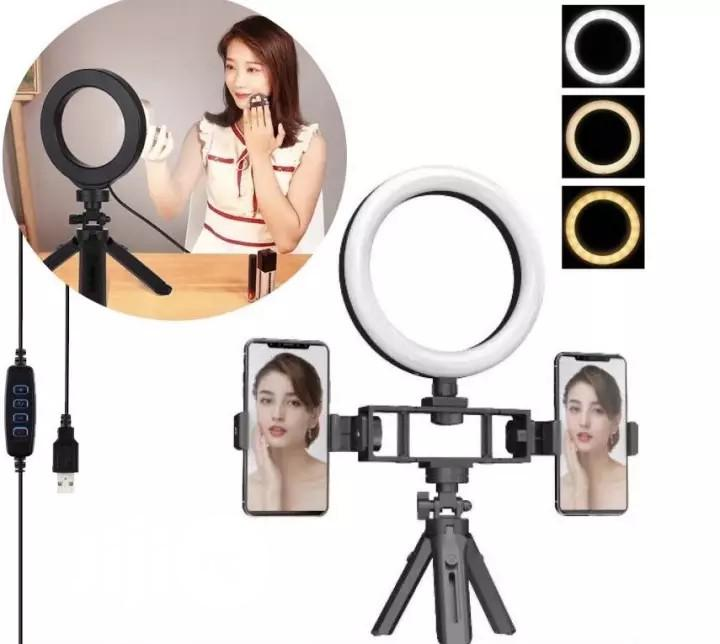 Multi Position Fill Light Bracket Fill Selfie Ring Light