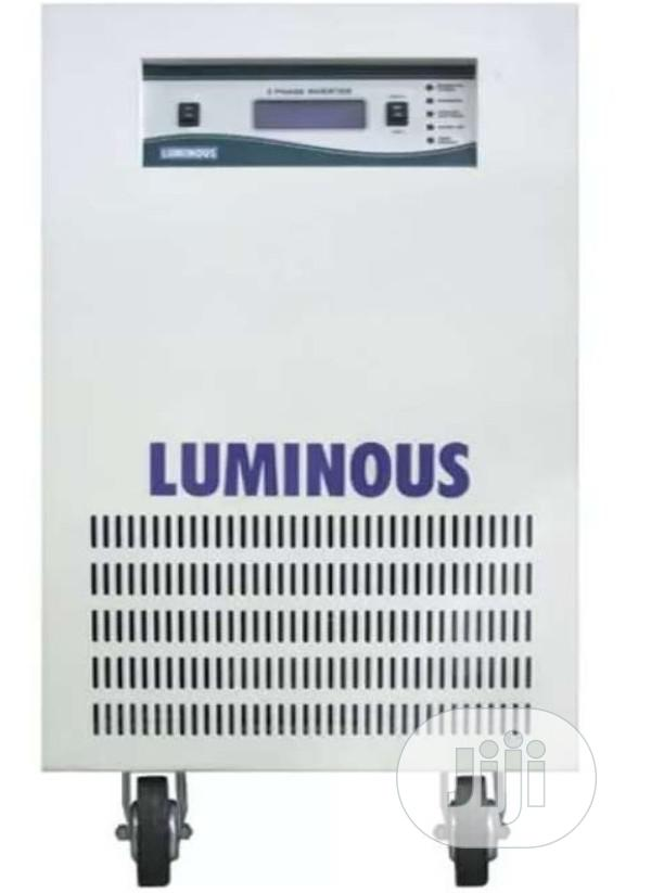 10kva/180v Luminous Pure Sine Wave Inverter | Solar Energy for sale in Surulere, Lagos State, Nigeria