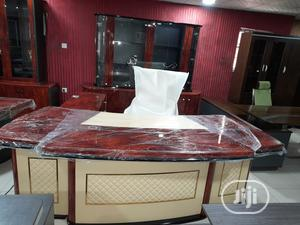 Top Class Executive Office Table Set With Shelf   Furniture for sale in Lagos State, Ikoyi