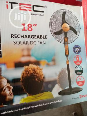 Itec Rechargeable Solar Fan With Lithium Battery | Home Appliances for sale in Rivers State, Port-Harcourt