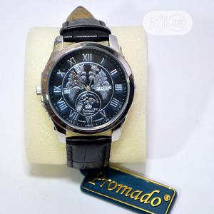 Classy Men's Leather Wristwatch   Watches for sale in Lagos State, Amuwo-Odofin