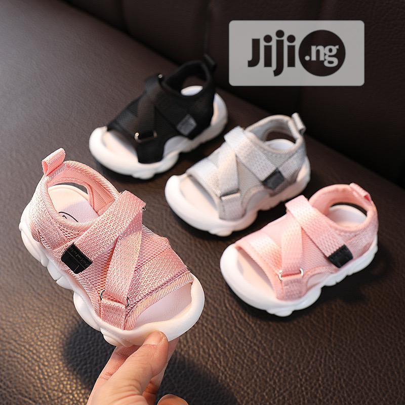 Cross Baby Sandals