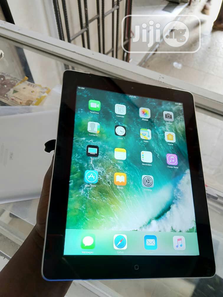 Apple iPad 4 Wi-Fi + Cellular 16 GB Gray | Tablets for sale in Ikeja, Lagos State, Nigeria