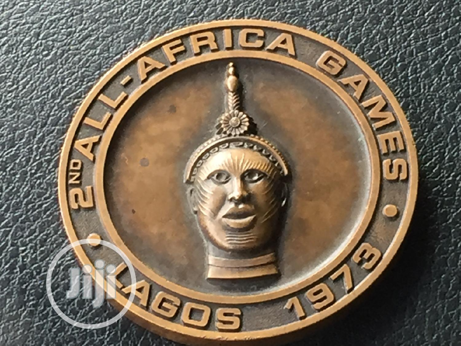 Archive: 2nd All African Games Boxing Medal 1973 Lagos