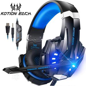 PC Laptop PS4 New X-Box Gaming Headsets With Light Mic Bass | Headphones for sale in Lagos State, Victoria Island
