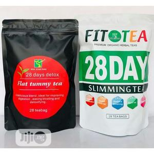 Flat Tummy Tea Fit Tea 28 Days for Weight Loss Wellness | Vitamins & Supplements for sale in Lagos State, Alimosho