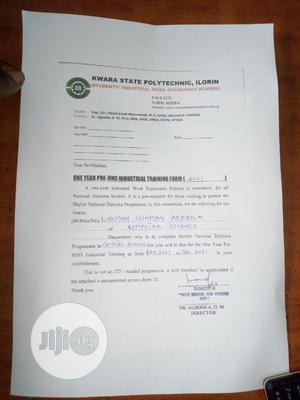 ICT Installer Trainee   Internship CVs for sale in Lagos State, Surulere