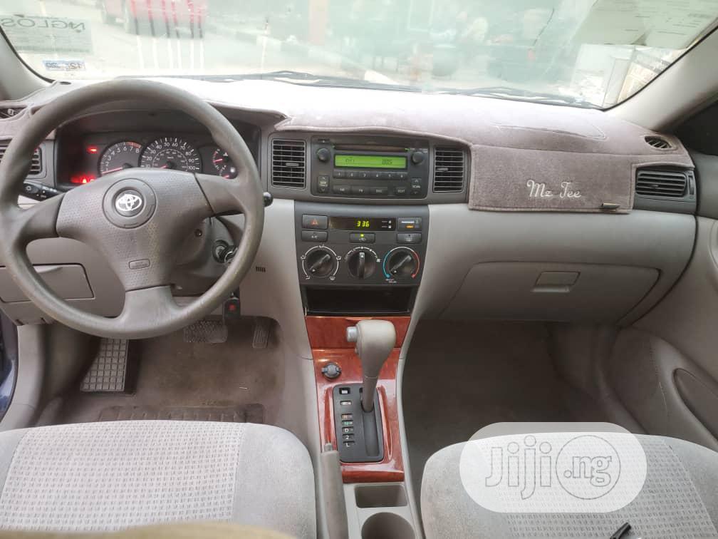 Toyota Corolla 2006 Blue