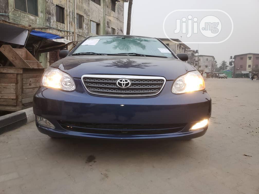 Toyota Corolla 2006 Blue | Cars for sale in Garki 2, Abuja (FCT) State, Nigeria