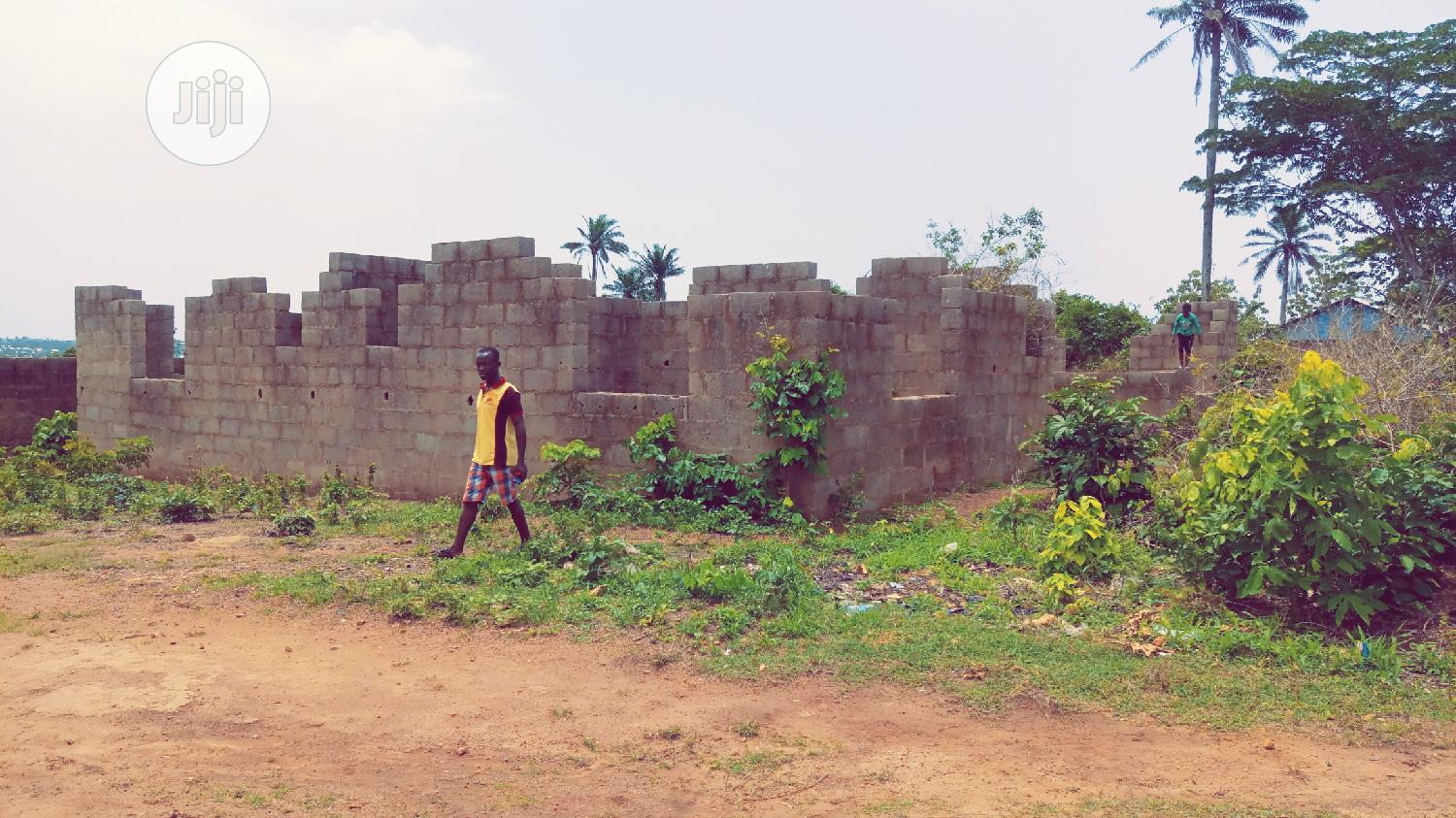 Archive: Land With an Uncompleted Building for Sale at Apete - Ibadan.