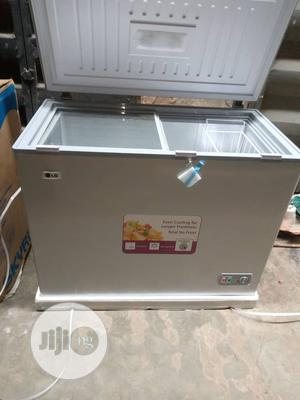 Brand New LG 328L Chest Freezer, External Compressor, Silver | Kitchen Appliances for sale in Lagos State, Ojo