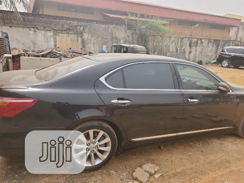 Lexus LS 2012 460 L Black | Cars for sale in Amuwo-Odofin, Lagos State, Nigeria