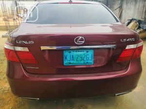 Lexus LS 2008 600h L Luxury Red | Cars for sale in Rivers State, Port-Harcourt