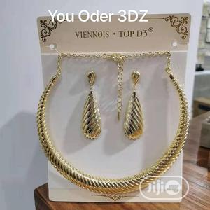 Choker and Earrings   Jewelry for sale in Lagos State, Ojo