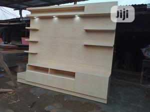 Tv Stand for Vip Use With High Quality HDF Dm Me for More | Furniture for sale in Lagos State, Ikeja