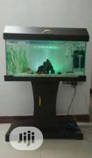 Aquarium, Accessories and Wood Standing   Fish for sale in Lagos State, Surulere
