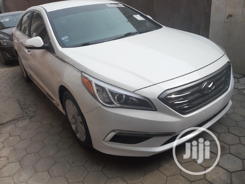 Hyundai Sonata 2015 White