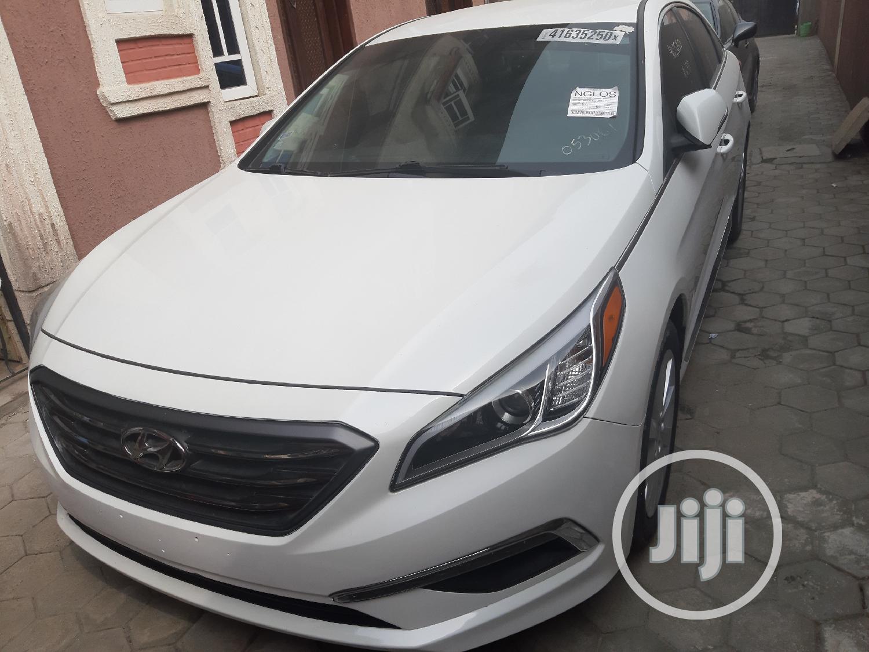 Hyundai Sonata 2015 White | Cars for sale in Ajah, Lagos State, Nigeria