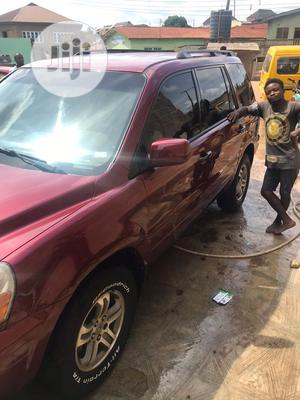 Honda Pilot 2004 EX 4x4 (3.5L 6cyl 5A) | Cars for sale in Abuja (FCT) State, Lugbe District