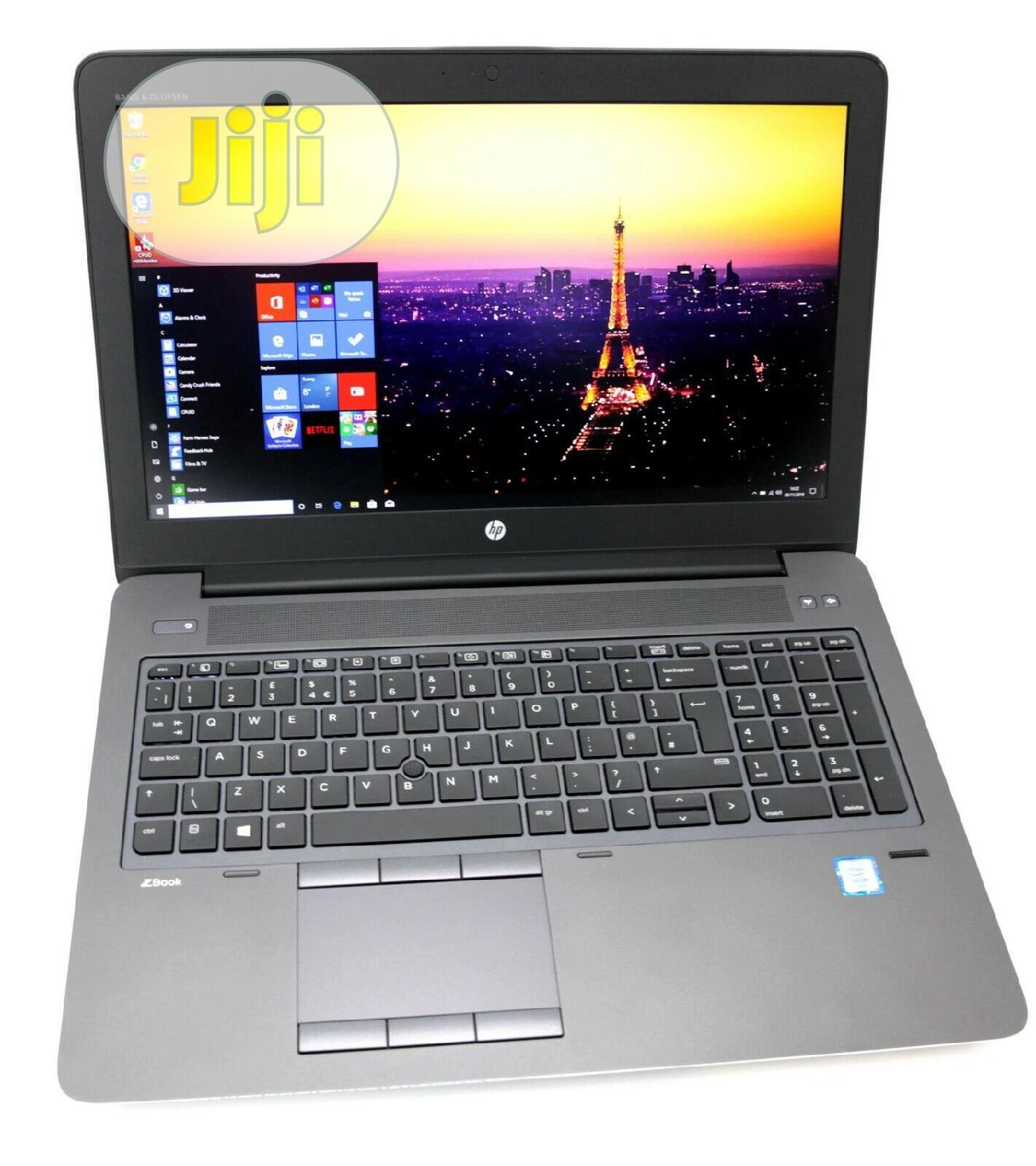 Archive: Laptop HP ZBook 15 G4 32GB Intel Core I7 SSD 1T