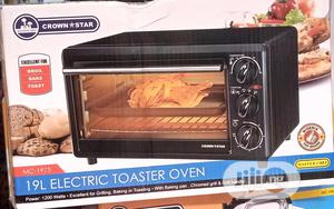 Crown Star 19L Electric Oven and Toaster   Kitchen Appliances for sale in Lagos State, Ifako-Ijaiye