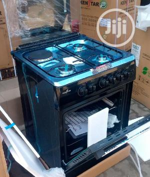 Quality 60cm KENSTAR Standing Gas3+1 Oven Auto Ignition 2yrs | Kitchen Appliances for sale in Lagos State, Ajah