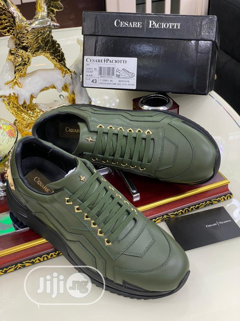 Original Cesare Paciotti Sneakers Available in All Sizes