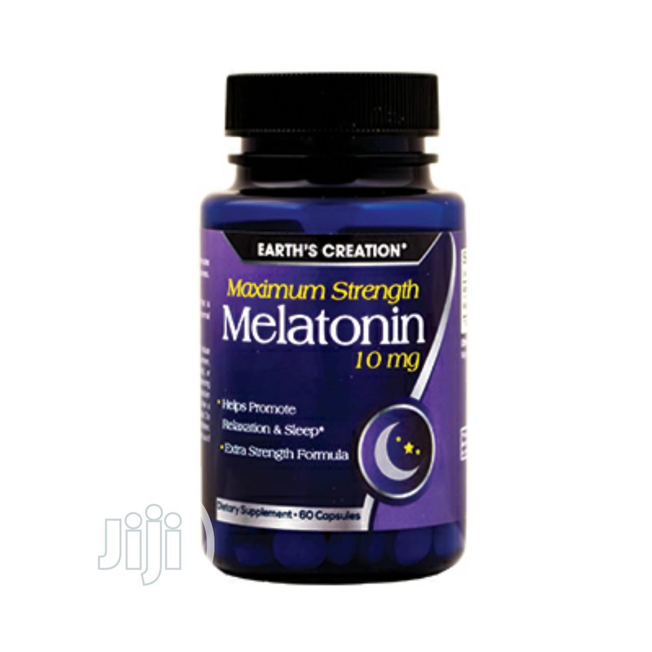 Earth'S Creation Melatonin