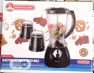 Master Chef 3 in 1 Electric Blender With Mill   Kitchen Appliances for sale in Lagos State, Ifako-Ijaiye