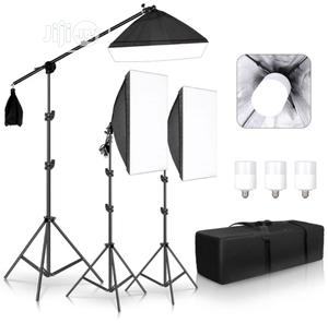 Photography Studio Softbox Lighting KIT   Accessories & Supplies for Electronics for sale in Lagos State, Lagos Island (Eko)