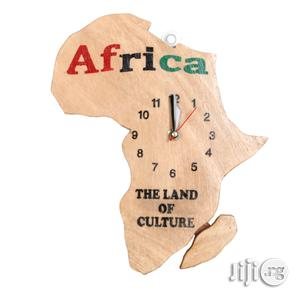 Map of Africa Wall Clock Artwork - Handmade (Black Friday) | Arts & Crafts for sale in Lagos State, Ojodu