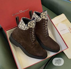 Original Salvatore Ferragamo Boots Available   Shoes for sale in Lagos State, Surulere
