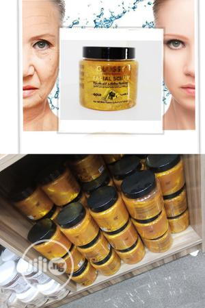 Glossy Professional Facial Gold Scrub - Anti-Aging, Wrinkles   Skin Care for sale in Lagos State, Apapa