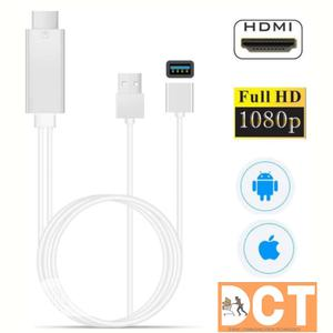 HDMI to Micro Usb, Type C and I Phone Cable   Accessories for Mobile Phones & Tablets for sale in Lagos State, Ojo