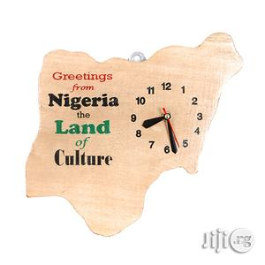 Map of Nigeria Wall Clock Artwork - Handmade (Black Friday)   Arts & Crafts for sale in Lagos State, Ojodu