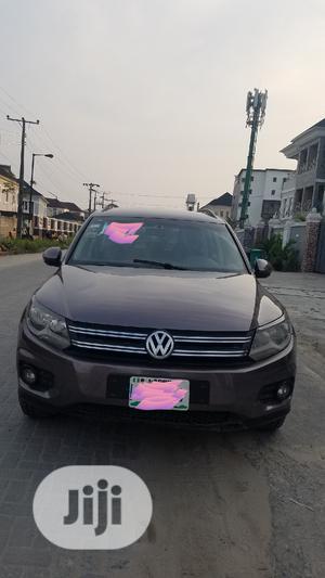 Volkswagen Tiguan 2013 Brown | Cars for sale in Lagos State, Lekki