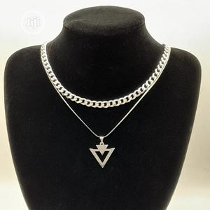 Gorgeous Cuban Chain With Steel Chain and Pendant | Jewelry for sale in Enugu State, Enugu