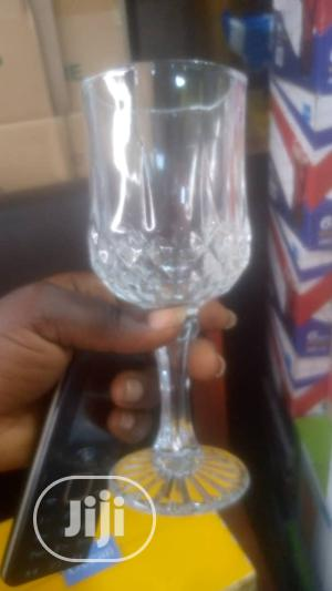 3pcs Wine Glass Cup | Kitchen & Dining for sale in Lagos State, Lagos Island (Eko)