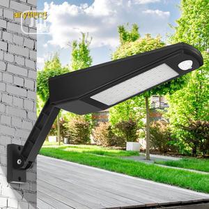 Solar Motion Sensor Wall Mounted Outdoor Garden Street Light | Garden for sale in Lagos State, Alimosho
