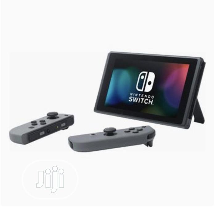 Archive: Nintendo Switch With Neon Blue and Neon Red Console