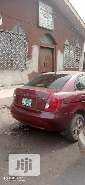 Hyundai Accent 2008 1.3 GLS Automatic Red | Cars for sale in Lagos State, Orile