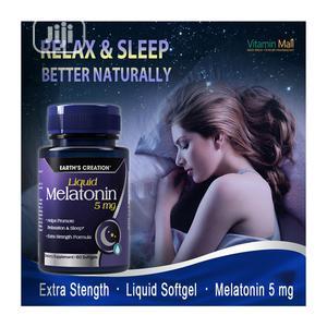 Earth's Creation Liquid Melatonin 5MG Softgel   Vitamins & Supplements for sale in Lagos State, Ojo