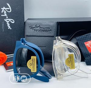 Foldable Ray Ban Unisex Sunglasses/Clear Frames | Clothing Accessories for sale in Lagos State, Alimosho