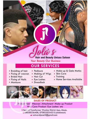 Jolasbeauty Saloon And Makeup Studio   Health & Beauty Services for sale in Abuja (FCT) State, Apo District
