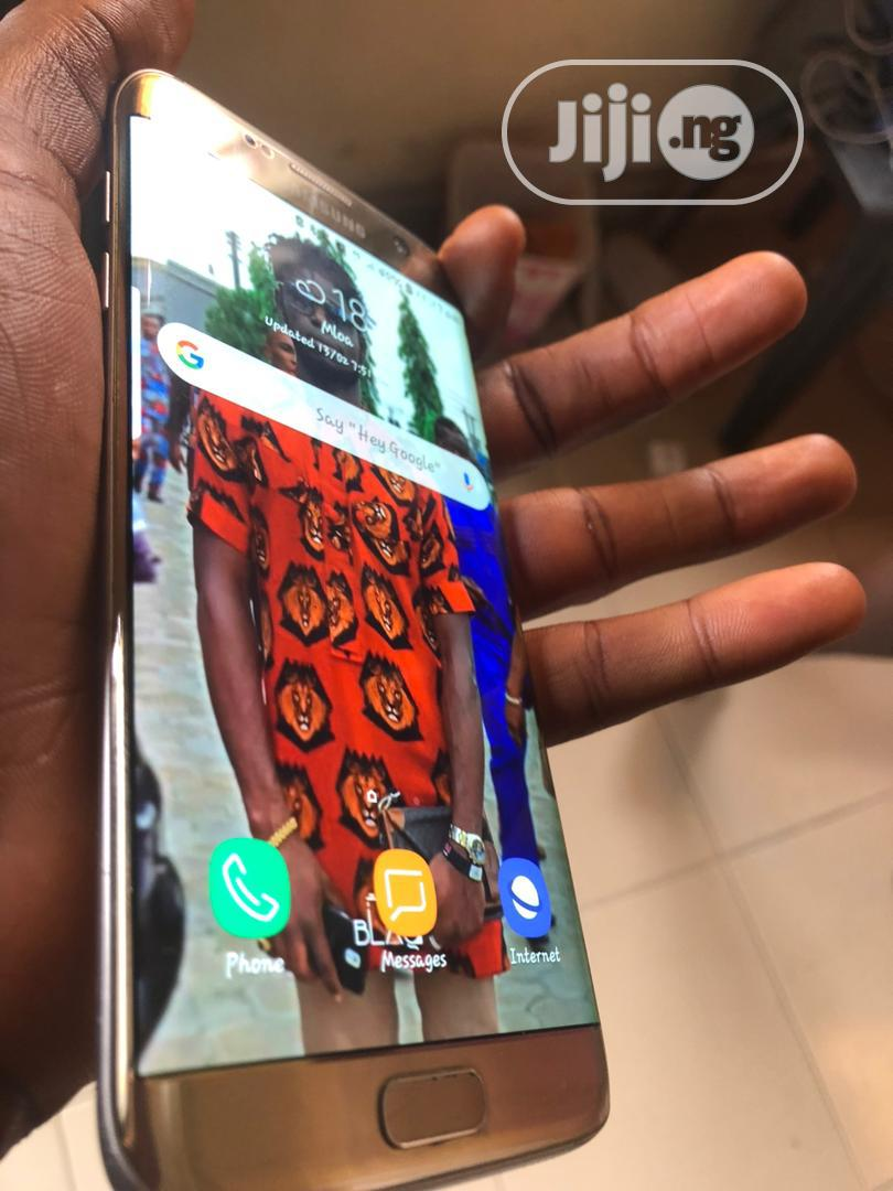 Samsung Galaxy S7 edge 32 GB Gold   Mobile Phones for sale in Obio-Akpor, Rivers State, Nigeria