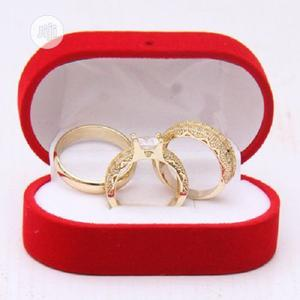 Italian Gold Couples Wedding Ring Set | Wedding Wear & Accessories for sale in Lagos State, Surulere