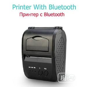 Portable Mobile Mini Bluetooth POS 58mm Thermal Printer | Store Equipment for sale in Lagos State, Ikeja