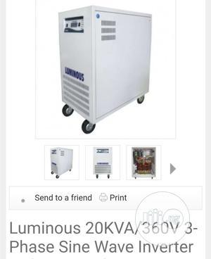 Luminous 20kva/360v 3-Phase Inverter | Electrical Equipment for sale in Lagos State, Ikeja