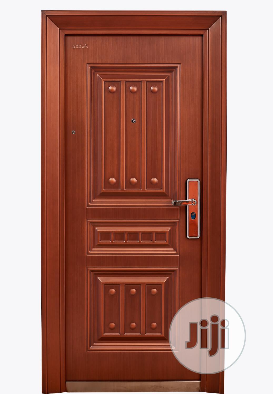 Copper Gold Security Door